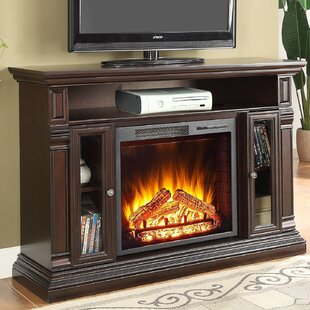Luz TV Stand for TVs up to 48 with Fireplace