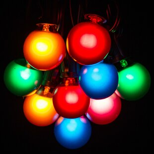 Bargain 50-Light Globe String Lights By Hometown Evolution, Inc.