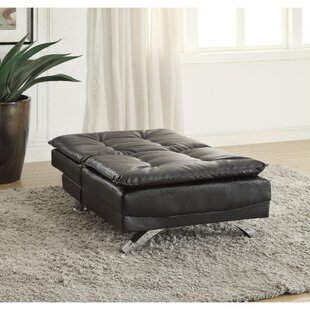 Bergelt Modish Leatherette Futon and Matt..