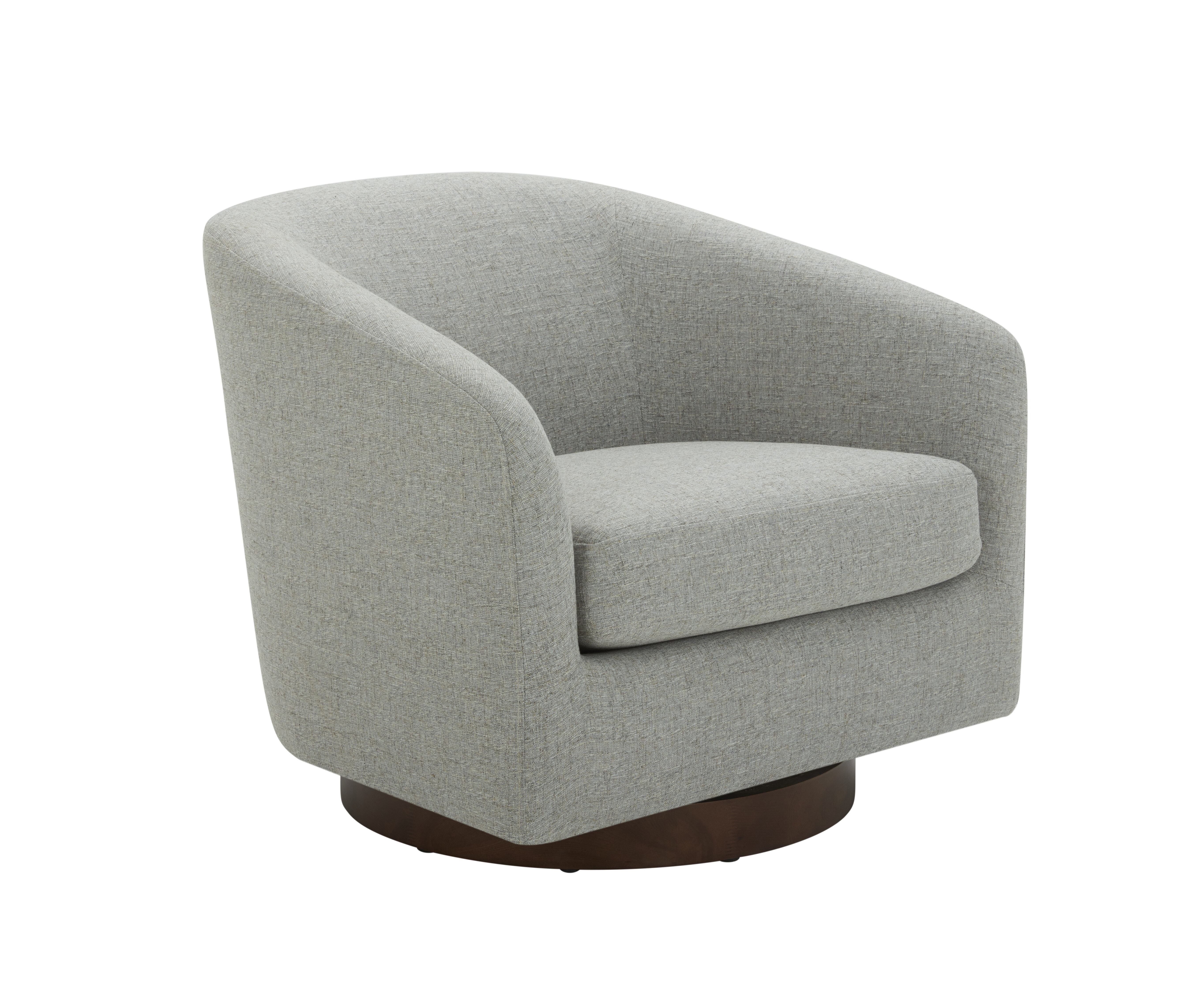 Picture of: Swivel Barrel Chair