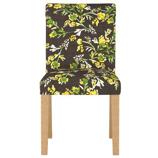 August Grove Trixie Rolled Back Upholstered Dining Chair
