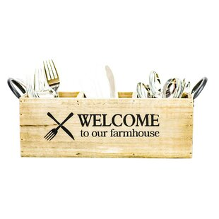 Farmhouse Flatware Caddy