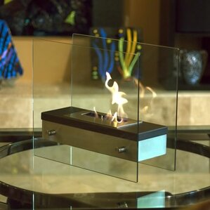 Coffee Table Fireplace shop 190 tabletop fireplaces | wayfair
