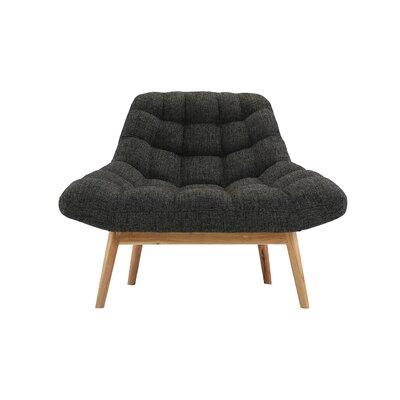 Trule Teen Benedict Lounge Chair Upholstery: Dark Gray