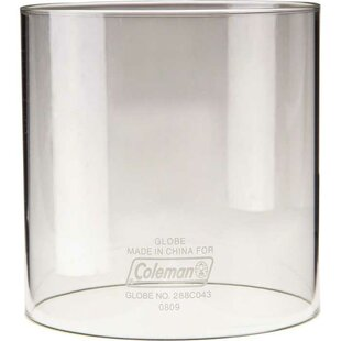 Coleman Clear Glass Lantern Globe