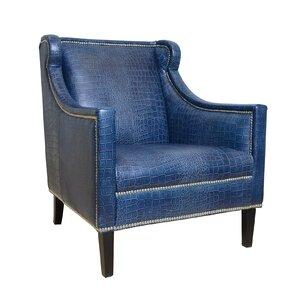 Bergdorf Leather Armchair