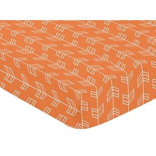 Savings Arrow Fitted Crib Sheet BySweet Jojo Designs