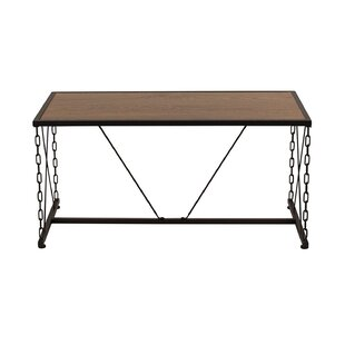 Bash Antique Wood Grain Finish Coffee Table by Williston Forge Today Sale Only