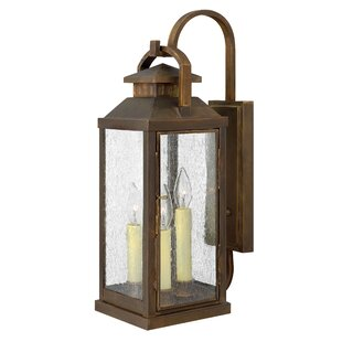 Comparison Revere 3-Light Outdoor Wall Lantern By Hinkley Lighting