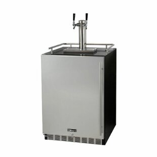 Dual Tap Full Size Beer Dispenser