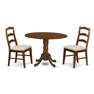 Aimee 3 Piece Dining Set by August Grove Amazing