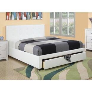 A&J Homes Studio Valhalla Upholstered Platform Bed