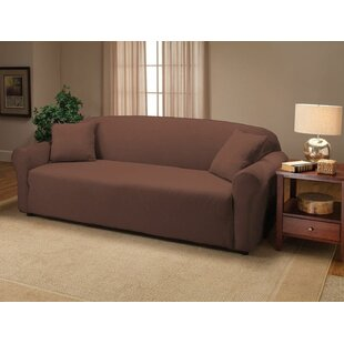Jersey Box Cushion Sofa Slipco..