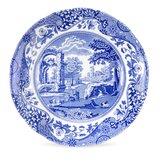Blue Italian 7 Bone China Bread and Butter Plate (Set of 4) bySpode
