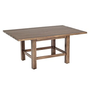 Woodlands Rectangular Aluminum Coffee Table