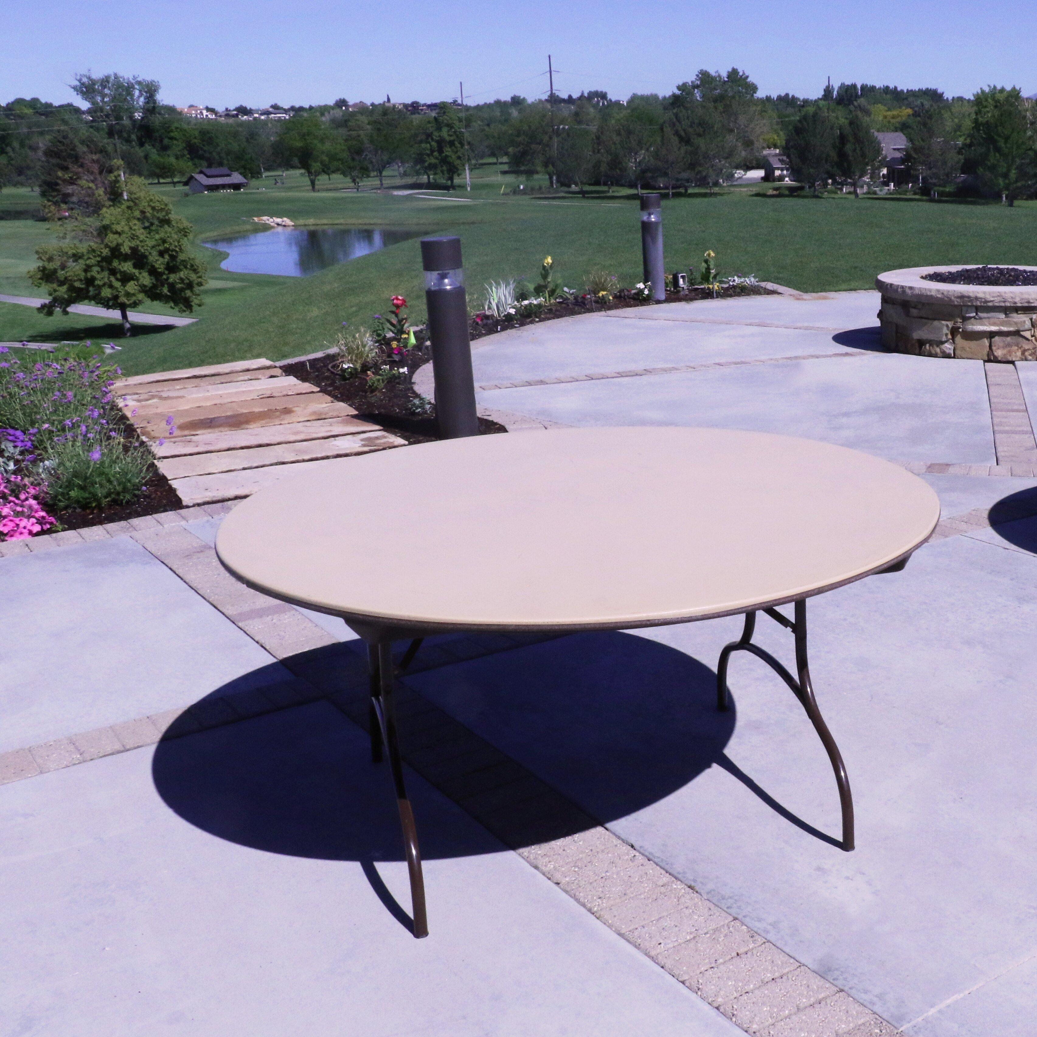 Tremendous 60 Circular Folding Table Interior Design Ideas Gentotryabchikinfo