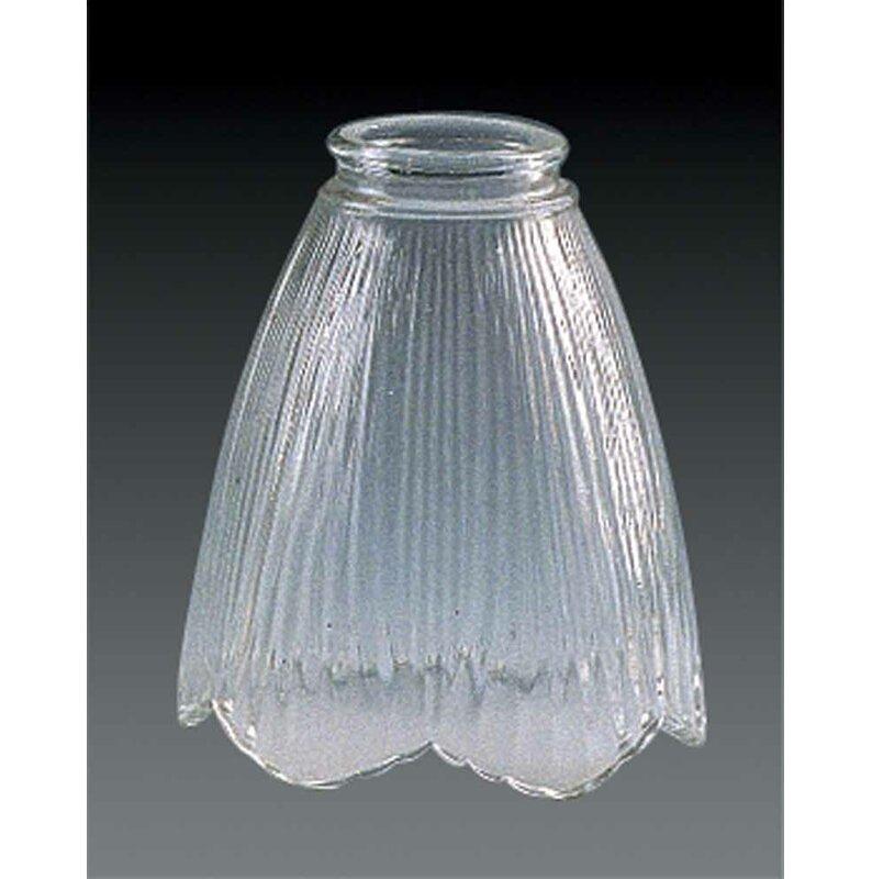 Volume Lighting 5 5 H Glass Novelty Pendant Shade Screw On In Clear Wayfair