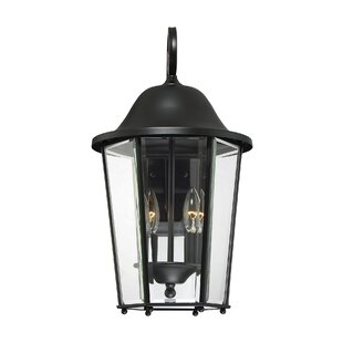 Charlton Home Raritan 2-Light Outdoor Wall Lantern