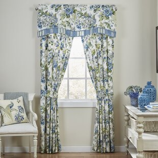 Floral Engagement Curtain Panels (Set Of 2)