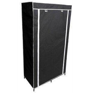 Collapsible Wardrobe 45cm Wide Portable Wardrobe By Symple Stuff