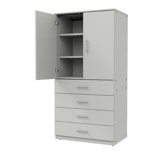 Mobile CaseGoods 2 Door Storage Cabinet