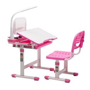 Sweitzer Kids Study Desk and Chair Set by Zoomie Kids