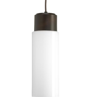 Mcdaniels 1-Light LED Cylinder Pendant by Ebern Designs