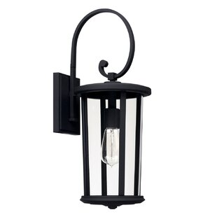 Brutus Outdoor Wall Lantern by Alcott Hill