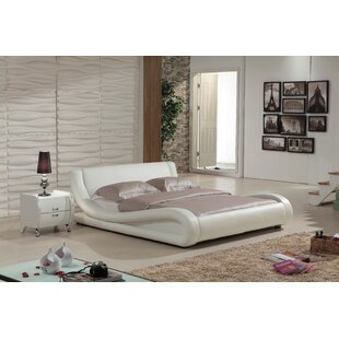 Melrose Upholstered Platform Bed by Wade Logan Savings