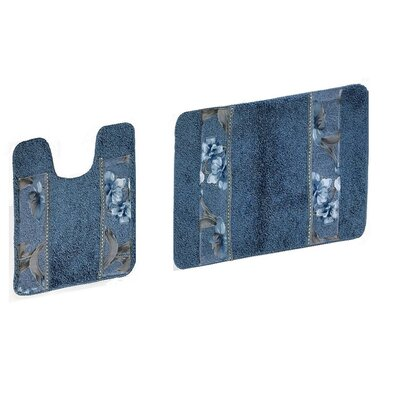 Blue Less Than 24 Quot Bath Rugs Amp Mats You Ll Love In 2020