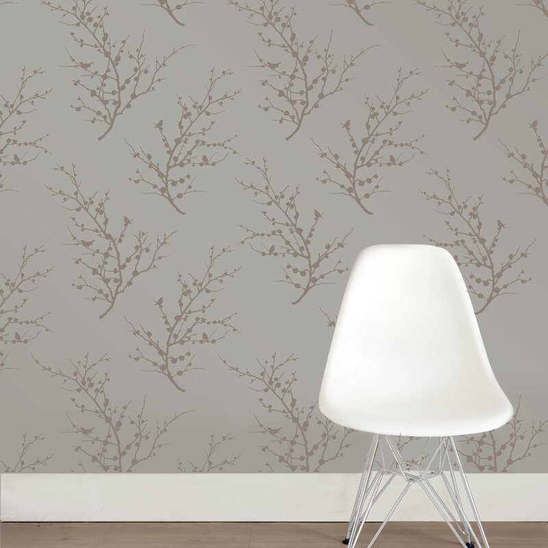 Tempaper E 359 L X 20 W Foiled Self Adhesive Wallpaper Roll