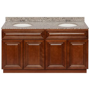 Letchworth 60 Double Bathroom Vanity Set by Charlton Home