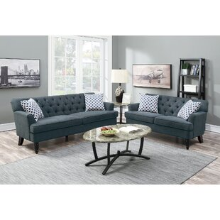 Jackson Heights 2 Piece Living Room Set by Alcott Hill