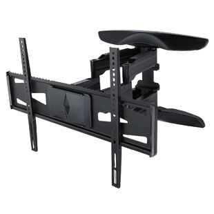 Weatherproof Dual Arm Articulating Wall Mount for 47
