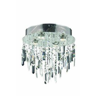 House of Hampton Colne 4-Light Flush Mount