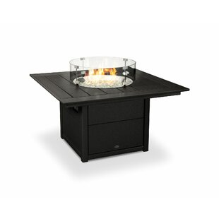 Polyresin Propane Gas Fire Pit Table by POLYWOOD® Top Reviews