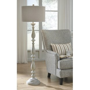 French country floor lamps youll love wayfair whipkey 62 traditional floor lamp aloadofball Choice Image