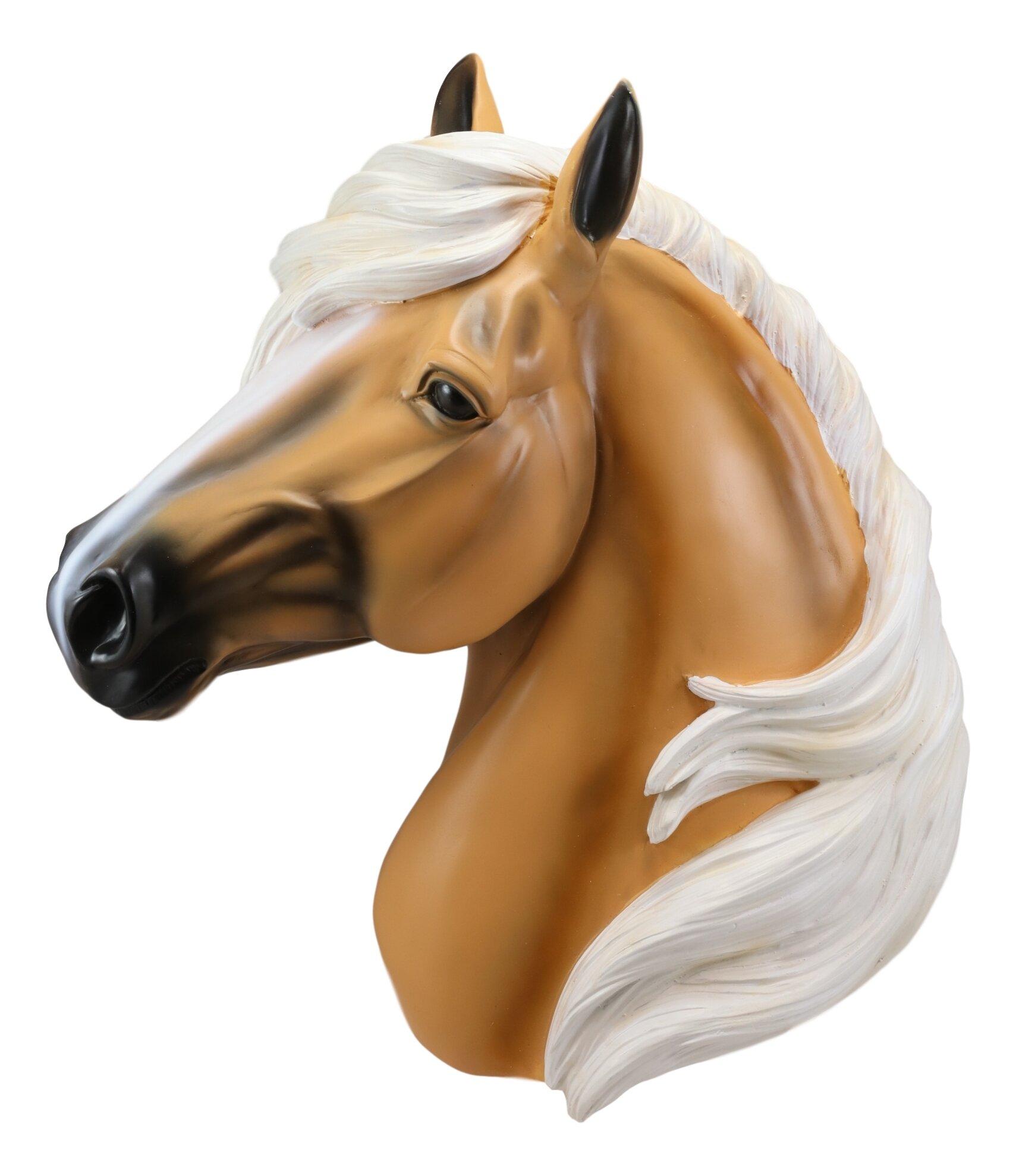 Gracie Oaks Parade Horse Head Wall Decor Wayfair