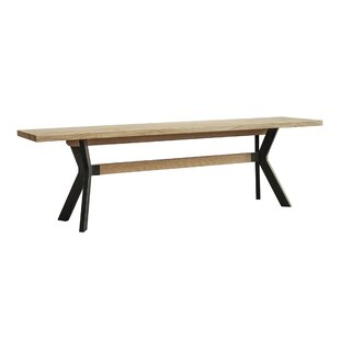 Rothman Solid Wood Bench by Foundry Select