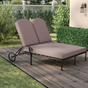 Bean Double Chaise Reclining Lounge with Cushion