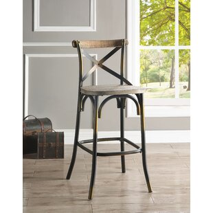 Waubun 29 Bar Stool by Gracie Oaks