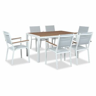 Monika 6 Seater Dining Set By Sol 72 Outdoor