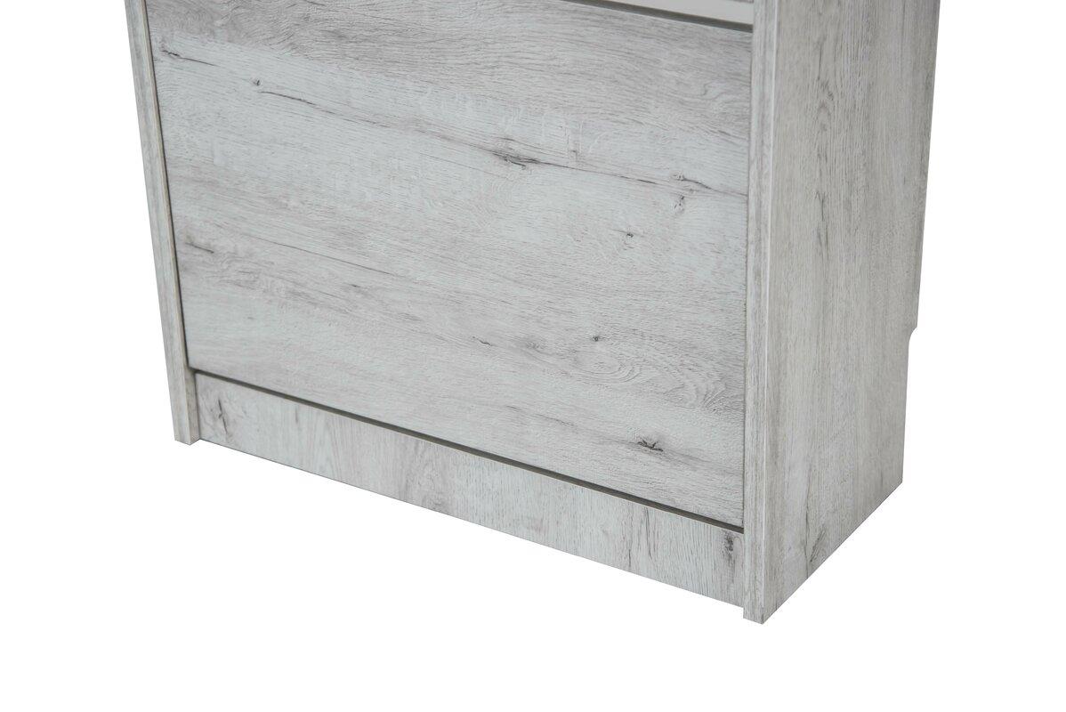modernmoments schuhschrank burnie f r 12 paar schuhe bewertungen. Black Bedroom Furniture Sets. Home Design Ideas
