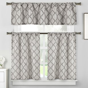Kitchen Curtains U0026 Valances Youu0027ll Love | Wayfair