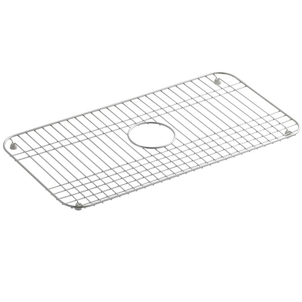 k 6517 st kohler bakersfield stainless steel sink rack 25 x 12 3 4 reviews wayfair. Black Bedroom Furniture Sets. Home Design Ideas
