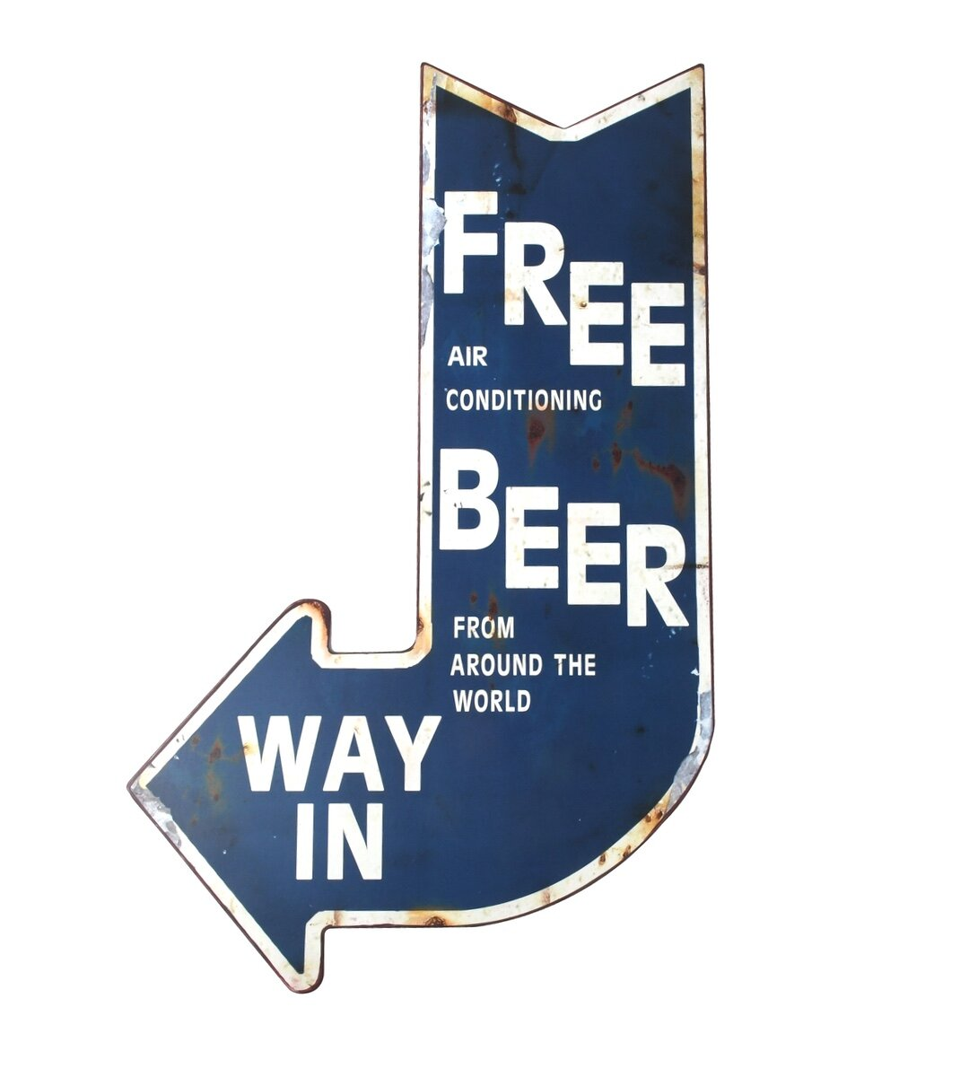 *Premium* DAD Garage Metal Sign Hand Finished Man Cave Wall Art Bar father grand