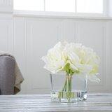 Lilies Floral Arrangement and Centerpieces in Vase