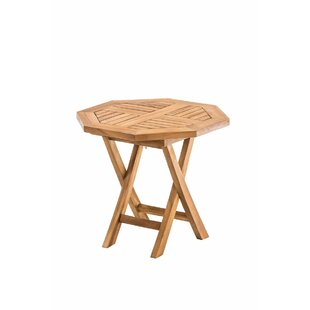 Zulma Folding Teak Bistro Table By Sol 72 Outdoor