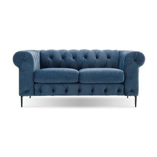 Kohl Tufted Chesterfield Loveseat