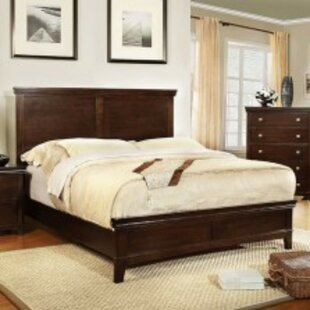 Maser Transitional Panel Bed by Charlton Home